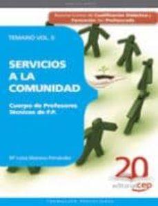 Garumclubgourmet.es Cuerpo De Profesores Técnicos De F.p. Servicios A La Comunidad. T Emario Vol. Ii. Image