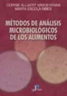 metodos de analisis microbiologicos de los alimentos-corrie allaert vandevenne-marta escola ribes-9788479785246