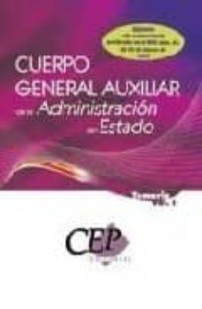 Inmaswan.es Temario Oposiciones Vol. I. Cuerpo General Auxiliar De La Adminis Tracion Del Estado Image