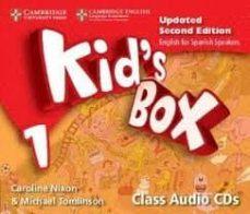Descarga online de libros KID S BOX LEVEL 1 CLASS AUDIO CDS (4) UPDATD ENGLISH FOR SPANISH SPEAKERS de DESCONOCIDO en español RTF MOBI