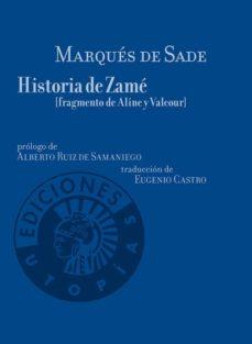 historia de zame-marques de sade-9788494775246