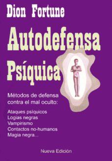 Descargar AUTODEFENSA PSIQUICA gratis pdf - leer online