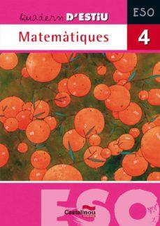 Inmaswan.es Quadern Estiu Matematiques Eso 4 Image