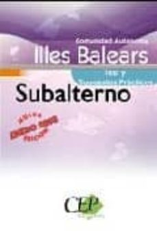 Titantitan.mx Oposiciones Subalterno. Comunidad Autonoma Illes Balears. Test Y Supuestos Practicos Image