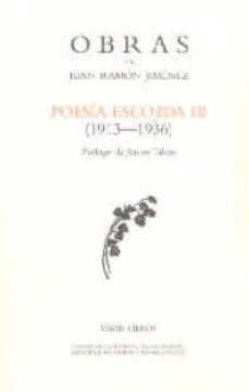 poesia escojida iii (1913-1936)-juan ramon jimenez-9788498950946