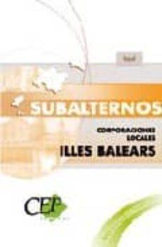 Encuentroelemadrid.es Subalternos Corporaciones Locales De Illes Balears. Test Y Supues Image