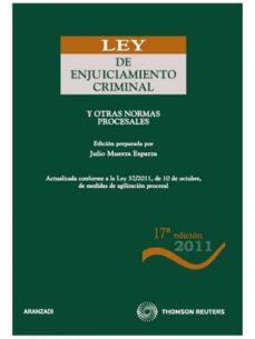 Mrnice.mx Ley De Enjuiciamiento Criminal (17ª Ed.) Image