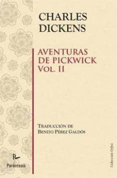 Inmaswan.es Aventuras De Pickwick (Vol. Ii) Image