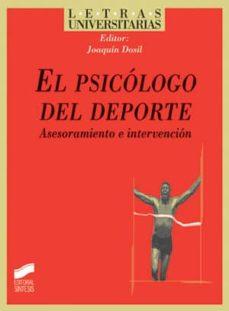 el psicólogo del deporte (ebook)-joaquin (ed.) dosil-9788499584546