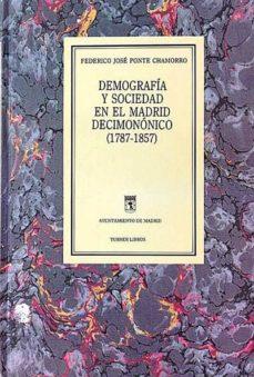 Carreracentenariometro.es Demografía Y Sociedad En El Madrid Decimonónico (1787-1857) Image
