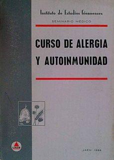 CURSO DE ALERGIA Y AUTOINMUNIDAD - VVAA   Adahalicante.org