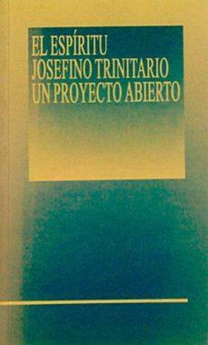 EL ESPÍRITU JOSEFINO TRINITARIO, UN PROYECTO ABIERTO - VVAA | Adahalicante.org
