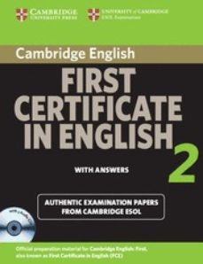 Descargar FIRST CERTIFICATE IN ENGLISH 2 FOR UPDATED EXAM gratis pdf - leer online