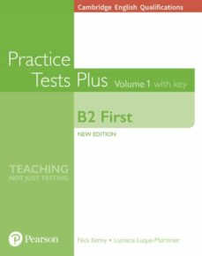 Descargar ebook francais gratuit CAMBRIDGE ENGLISH: FIRST PRACTICE TESTS PLUS WITH KEY 9781292208756  de  in Spanish