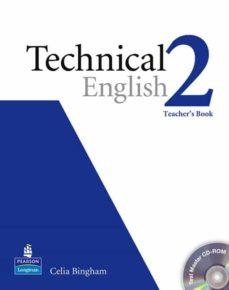 Libros en línea gratuitos descargables TECHINICAL ENGLISH 2 TB/ TEST MASTER CD ROM PACK 9781405881456