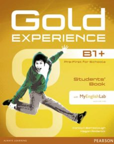 Descargar libros gratis en kindle GOLD EXPERIENCE B1+ STUDENTS  BOOK WITH DVD-ROM AND MYLAB PACK