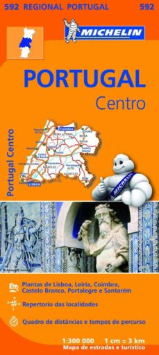 Mapa Regional Portugal Centro 2013 Michelin Comprar Libro