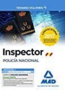 Debatecd.mx Inspector De Policía Nacional. Temario Volumen 4 Image