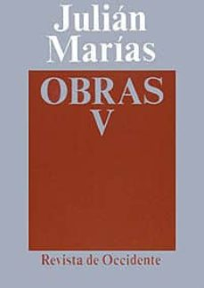 obras (t. 5)-julian marias-9788429262056