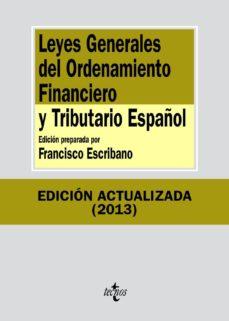 Upgrade6a.es Leyes Generales Del Ordenamiento Financiero Y Tributario Español (7ª Ed.) Image