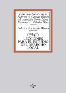 lecciones para el estudio del derecho local-estanislao (dir.) arana garcia-9788430964956