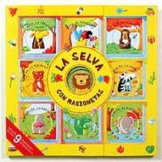 Cdaea.es La Selva Con Marionetas (Incluye 9 Pequeños Libros Con 9 Marionet As De Dedo) Image