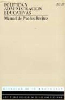 Vinisenzatrucco.it Politica Y Administracion Educativas (Uned) (2ª Ed.) Image