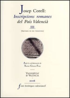 Emprende2020.es Inscripcions Romanes Del País Valencià, Iii Image