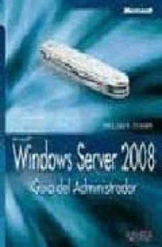 Permacultivo.es Windows Server 2008: Guia Del Administrador (Manuales Tecnicos) Image
