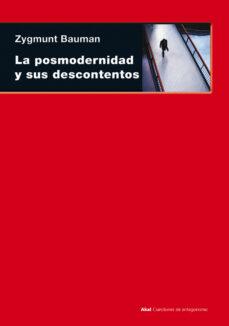 la posmodernidad y sus descontentos-zygmunt bauman-9788446012856
