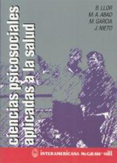 Descargador de libros de Google descarga gratuita versión completa CIENCIAS PSICOSOCIALES APLICADAS A LA SALUD  9788448601256