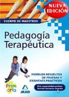 Colorroad.es Cuerpo De Maestros. Pedagogia Terapeutica. Modelos Resueltos De P Ruebas Y Examenes Practicos Image