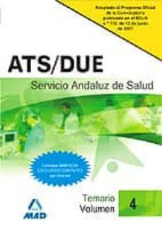 Iguanabus.es Ats Due Del Servicio Andaluz De Salud. Sas. Temario (Vol. Iv) Image