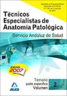 Titantitan.mx Tecnicos Especialistas De Anatomia Patologica Del Servicio Andalu Z De Salud. Sas. Temario (Vol. Ii) Image