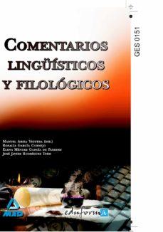 comentarios linguisticos y filologicos-9788466587556