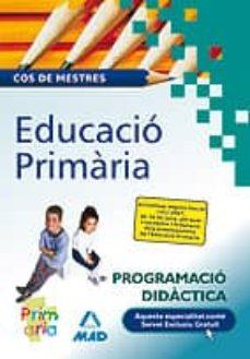 Padella.mx Cos De Mestres: Educacio Primaria: Programacio Didactica Image