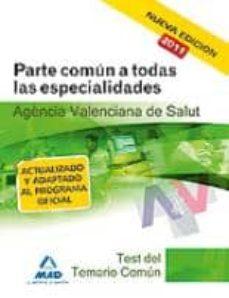 Inmaswan.es Agencia Valenciana De Salud: Test Del Temario Comun Image