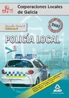 Viamistica.es Policias Locales De Galicia. Temario General. Volumen Ii Image