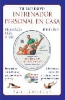 tu exclusivo entrenador personal en casa programas paso a paso (libro + dvd)-paul collins-9788479025656