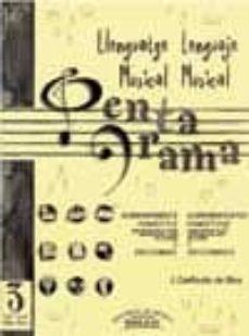 Cdaea.es Pentagrama Llenguatge Musical= Lenguaje Musical Nº 3 Grau-grado E Lemental (Solucionario) Image