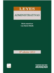 Geekmag.es Leyes Administrativas 2013. Formato Duo (19ªed.) Image