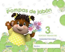 pompas de jabón 3 años. 3º trimestre educación infantil-9788490670156