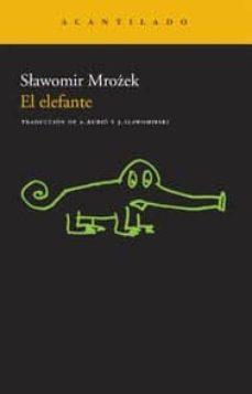 Descarga gratuita de libros ipad. EL ELEFANTE (2ª ED.) (Literatura española)