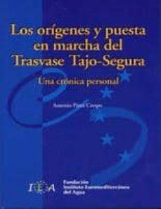 Encuentroelemadrid.es Los Origenes Y Puesta En Marcha Del Trasvase Tajo-segura: Una Cro Nica Personal (Incluye Cd) Image