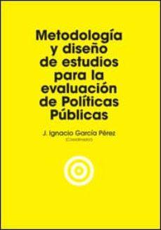 Tajmahalmilano.it Metodologia Y Diseño De Estudios Para La Evaluacion De Politicas Publicas Image