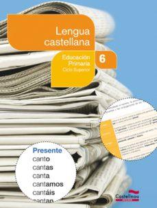 Permacultivo.es Lengua Castellana 6 (Libro + Cd) (Projecte Salvem La Balena Blanc A) Image