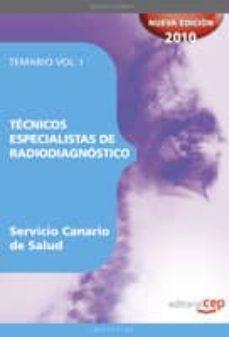 Iguanabus.es Tecnicos Especialistas De Radiodiagnostico Del Servicio Canario D E Salud. Temario Vol. I. Image