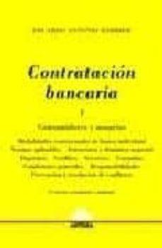 Geekmag.es Contratacion Bancaria. Tomo 1: Consumidores Y Usuarios (3ª Ed) Image