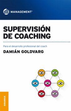 supervisión de coaching (ebook)-damian goldvarg-9789506419356
