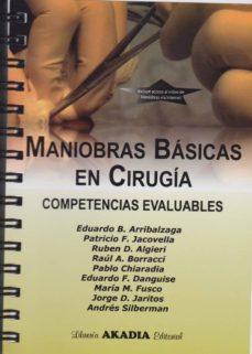Ebook gratis descargar nederlands MANIOBRAS BASICAS EN CIRUGIA: COMPETENCIAS EVALUABLES